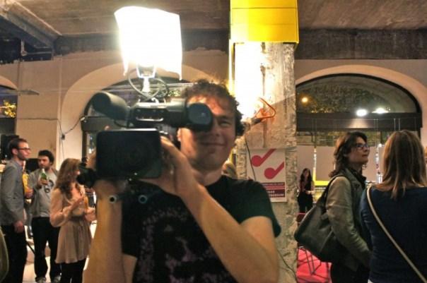 broadcast film crew member