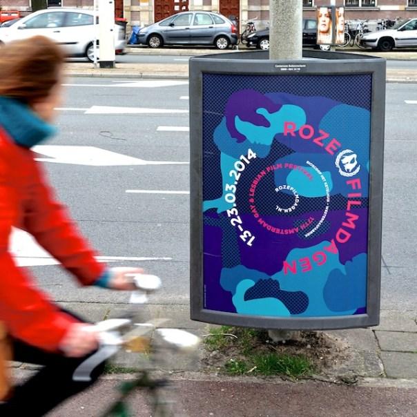 poster Roze Filmdagen Amsterdam 2014