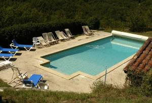 piscine  - grand gite au pays du Lot