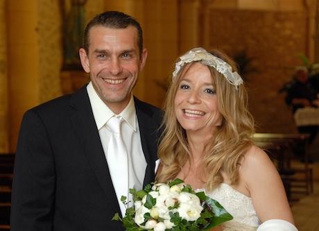 Stépanie et  Xavier de Bordeaux, mariés à La Gabertie le 15 Juin 2013