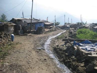 Simjung après le seisme