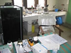 Le laboratoire en fonctionnement