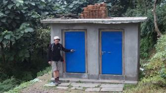 Nouveau bloc sanitaire dans le village de Ghyachchok