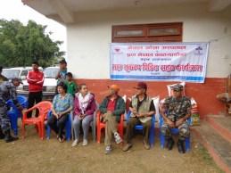 Avec nos partenaires et les autorités locales de la communauté de commune