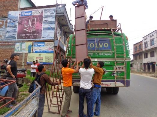 Chargement de Kathmandu