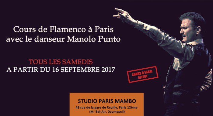 cours flamenco paris
