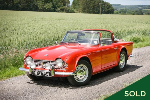 1962 Triumph TR4 -
