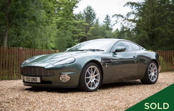 2002 Aston Martin Vanquish to 'S' Spec