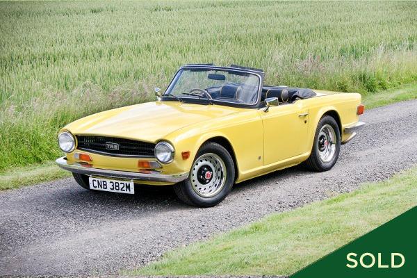 1974 Triumph TR6 -