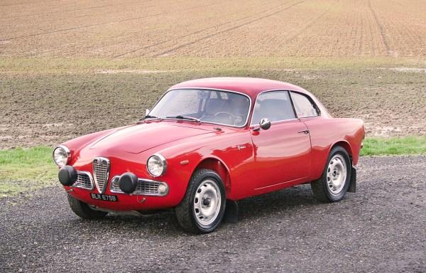 1963 Alfa Romeo Giulia Sprint Rally Car