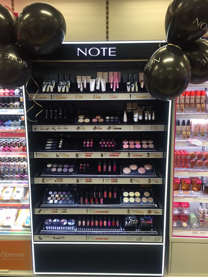 Manor West  Free NOTE Cosmetics Makeup Masterclass in Sam