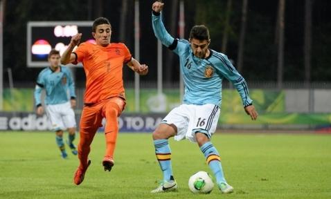 Holandeses y españoles disputaron un partido intenso e igualado Foto: lasexta.com