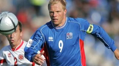 Eidur Gudjhonsen, máximo goleador de la historia de su país Foto: uefa.com