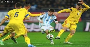 Argentina no contó con la inspiración suficiente para vencer Foto: www.aztecadeportes.com