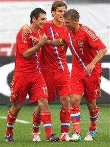 Aleksandr Kokorin,Igor Denisov,AlanDzagoev