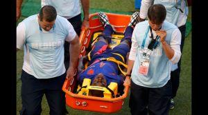 Martins Indi fue trasladado al hospital de Porto Alegre