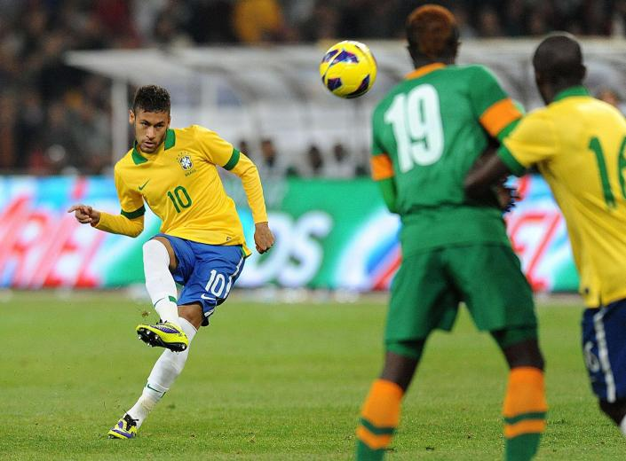 Neymar es la gran estrella de una compacta Brasil de cara al Mundial. Foto: trbimg.com