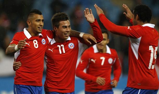 Chile se presenta en Brasil como uno de los cuadros más ofensivos del campeonato. Foto: rinconfutbolistico.blogspot.com