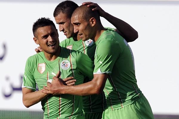 La selección de Argelia buscará ser una de las revelaciones del Mundial Foto: mediotiempo.com