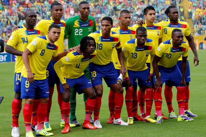 Ecuador se ganó el pase a Brasil en el último partido tras un buen papel en las clasificatorias. Foto: panorama.com.ve