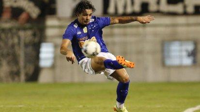 Ricardo Goulart, máximo goleador del Brasileirao a día de hoy, está siendo una de las sensaciones del campeonato Foto: ofsajd.onet.pl