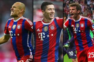 Tridente Bayern Munich