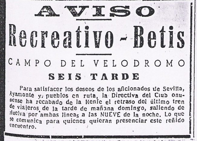 Fuente: Sevilla 1 de Junio de 1951