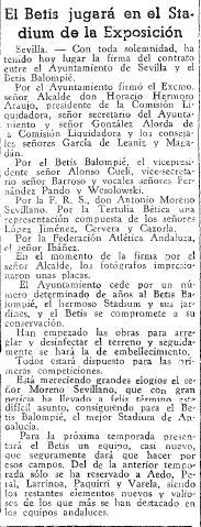 Fuente: El Mundo Deportivo 19 de Julio de 1936