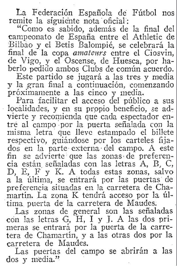 Fuente: ABC 20 de Junio de 1931