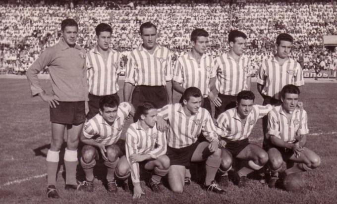 Alineación Sevilla-Betis Liga 1958 (NMP)