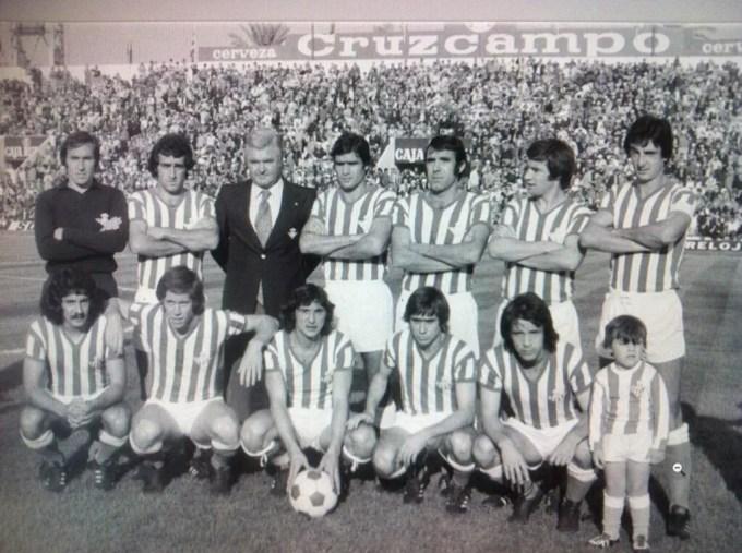 Betis-Español Liga 1976