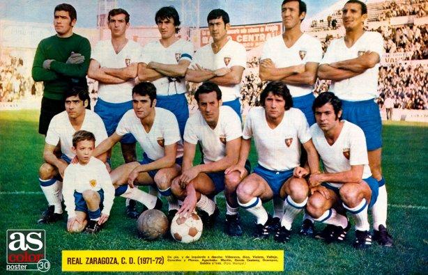El Zaragoza en la temporada 1971-72