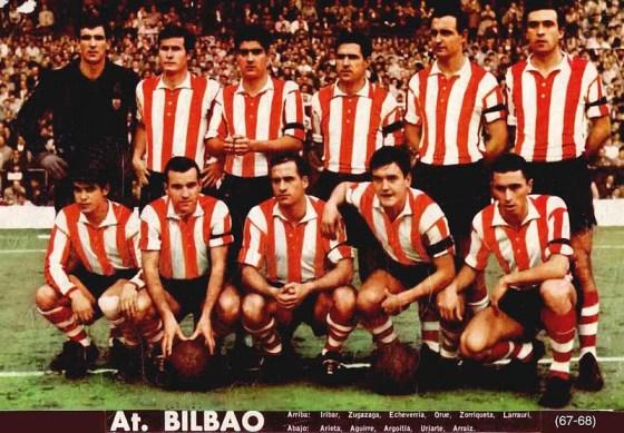 El Athletic en la temporada 1967-68