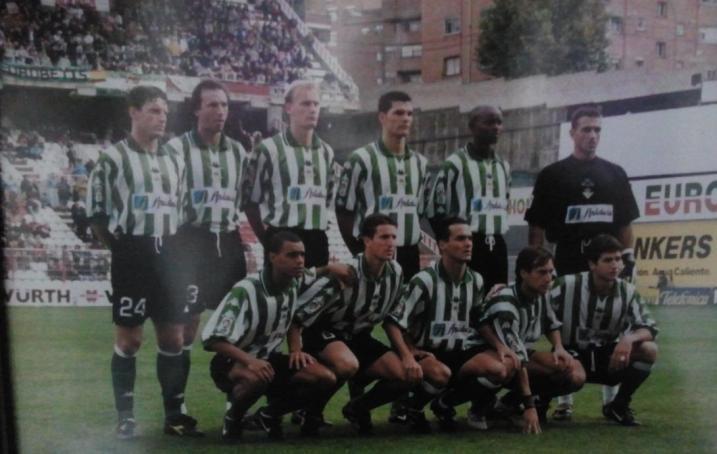 Alineación Rayo Vallecano-Betis Liga 1999