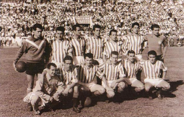 Enero-11 Alineación Betis-Levante Liga 1958