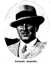 Entrevista Normand Faurie 1934 Fernando Escandón (NMP) Campeón 25-02-1934