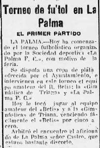 Fuente: Diario de Huelva 9 de septiembre de 1930