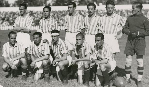 Alineación Sevilla-Betis Liga 1940 (NMP) Marca 9-4-1940