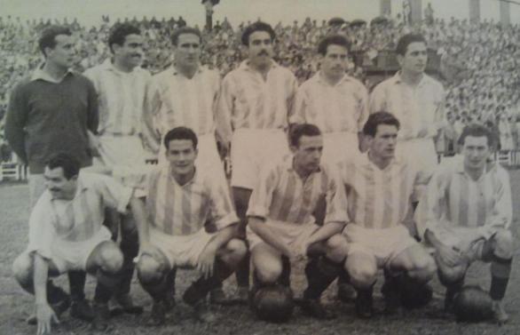El Valladolid que alcanzó la final de Copa en 1950