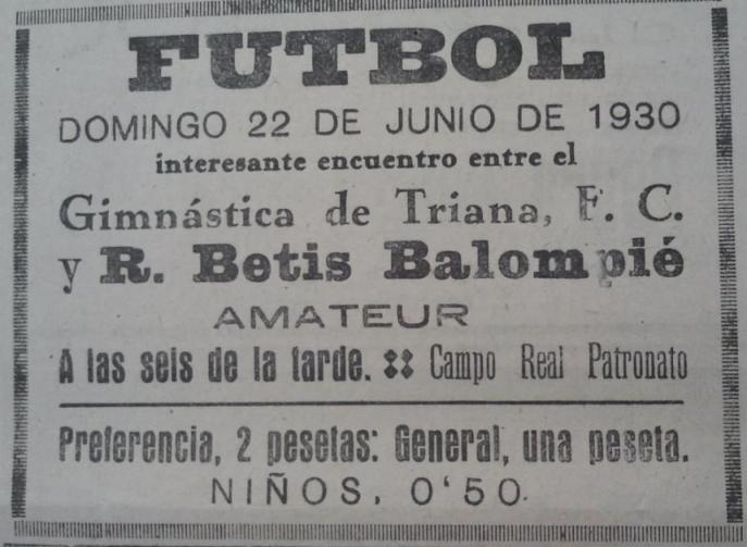 Fuente: La Unión 22 de junio de 1930