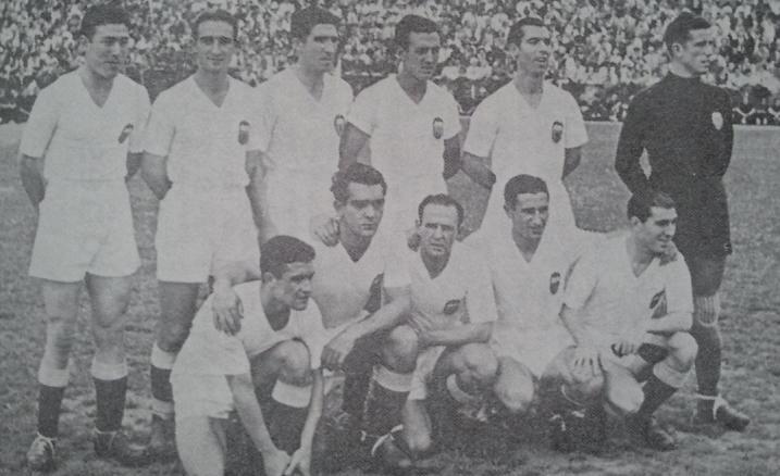 El Valencia Campeón de Liga en la temporada 1941-42