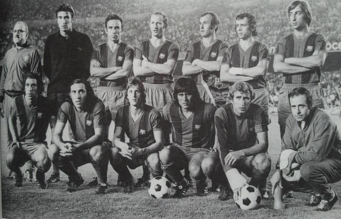 El FC Barcelona de la temporada 1973-74