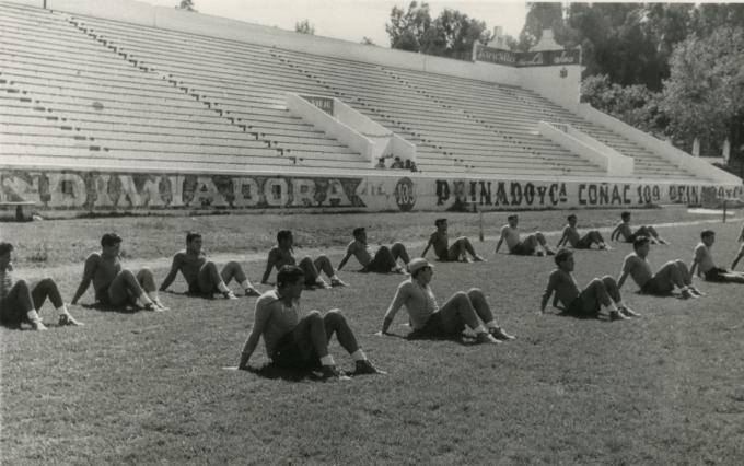 Entrenamientos en Heliópolis 1958 (NMP) Marca 25-11-1958