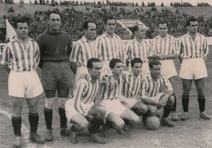 Alineación Betis-Celta Liga 1943