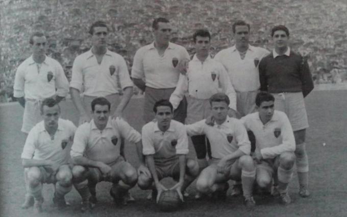 El Zaragoza en la temporada 1952-53