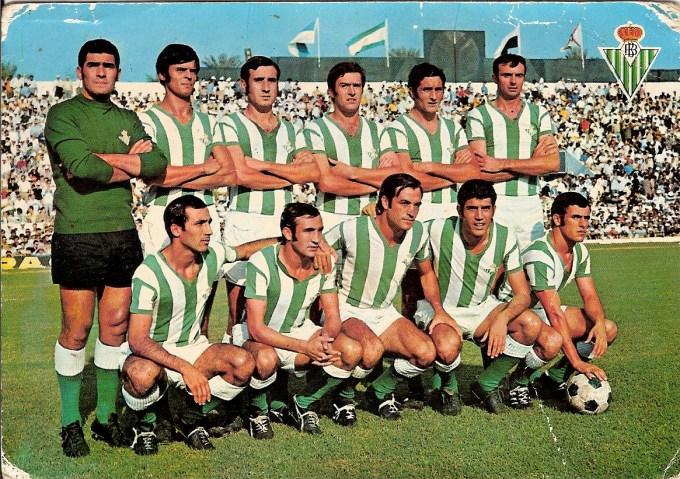 Alineación Betis-Cádiz Liga 1970
