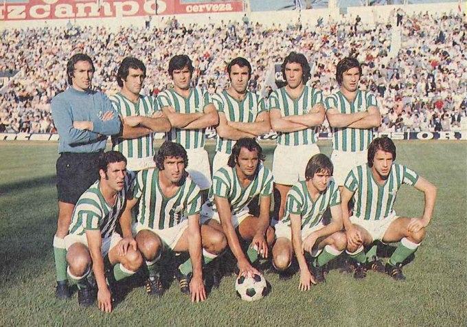 Julio-2 Alineación Betis-Sporting Liga 1975