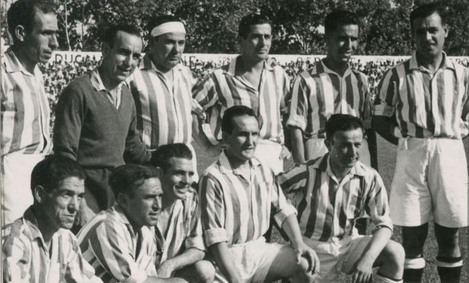 Alineación Viejas Glorias 1942 (NMP) AGA