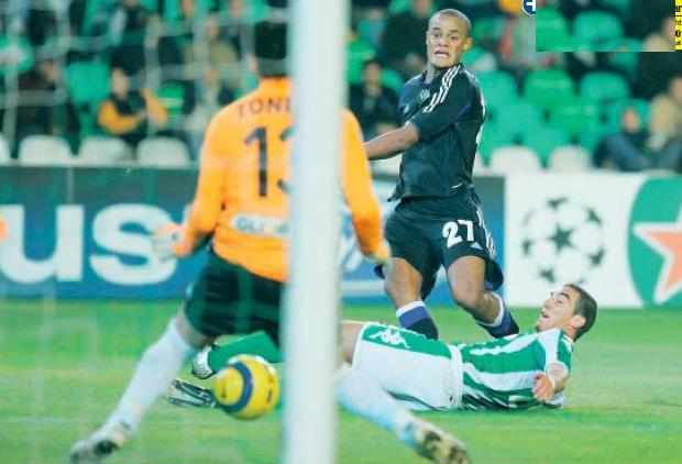 El gol de Kompany en el minuto 44i