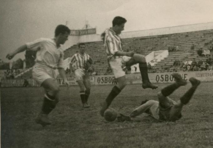 Betis-Ceuta Liga 1949